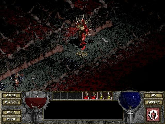 Screenshot de Diablo réalisé par Vivien.