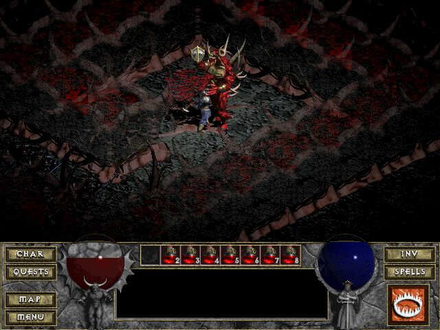 Diablo, tu te tueras plus jamais !